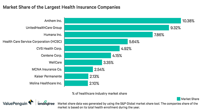 Largest Health Insurers