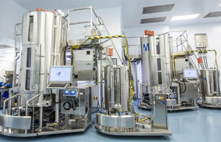 Prudentbiotech.com ~Partial View of Avid's CGMP Facility